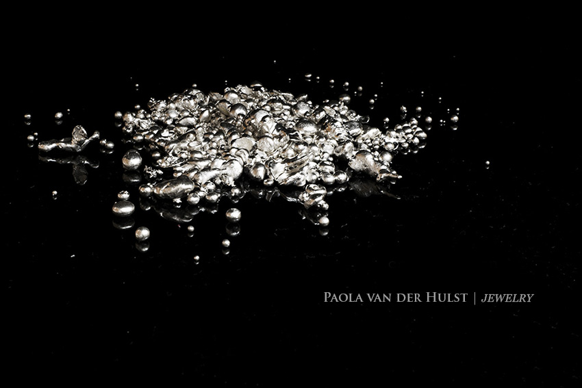 palladium white gold | Paola van der Hulst