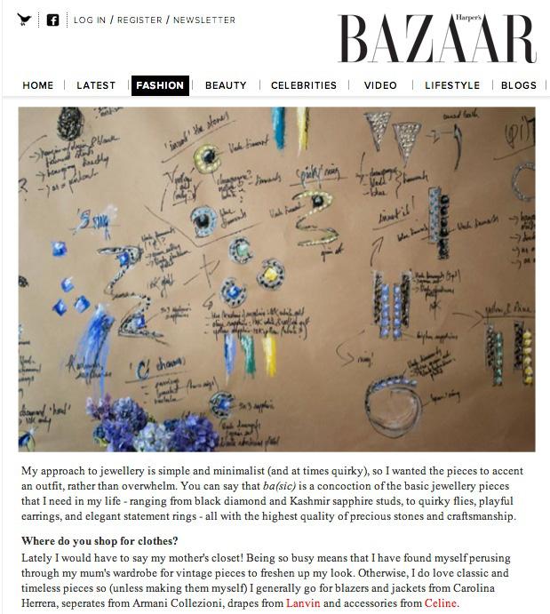 Harper's Bazaar UK | Paola van der Hulst