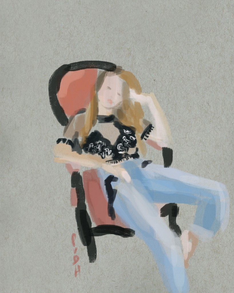 GIGI HADID BY HARPER SMITH | Paola van der Hulst
