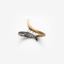 Baguette Tonali Ring | Paola van der Hulst