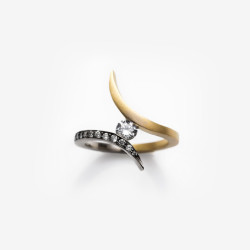 Diamond Tonali Ring | Paola van der Hulst