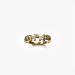 Floating Diamond Ring | Paola van der Hulst