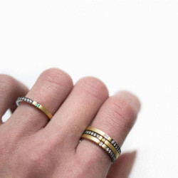 Vacuum Stackable Rings | Paola van der Hulst
