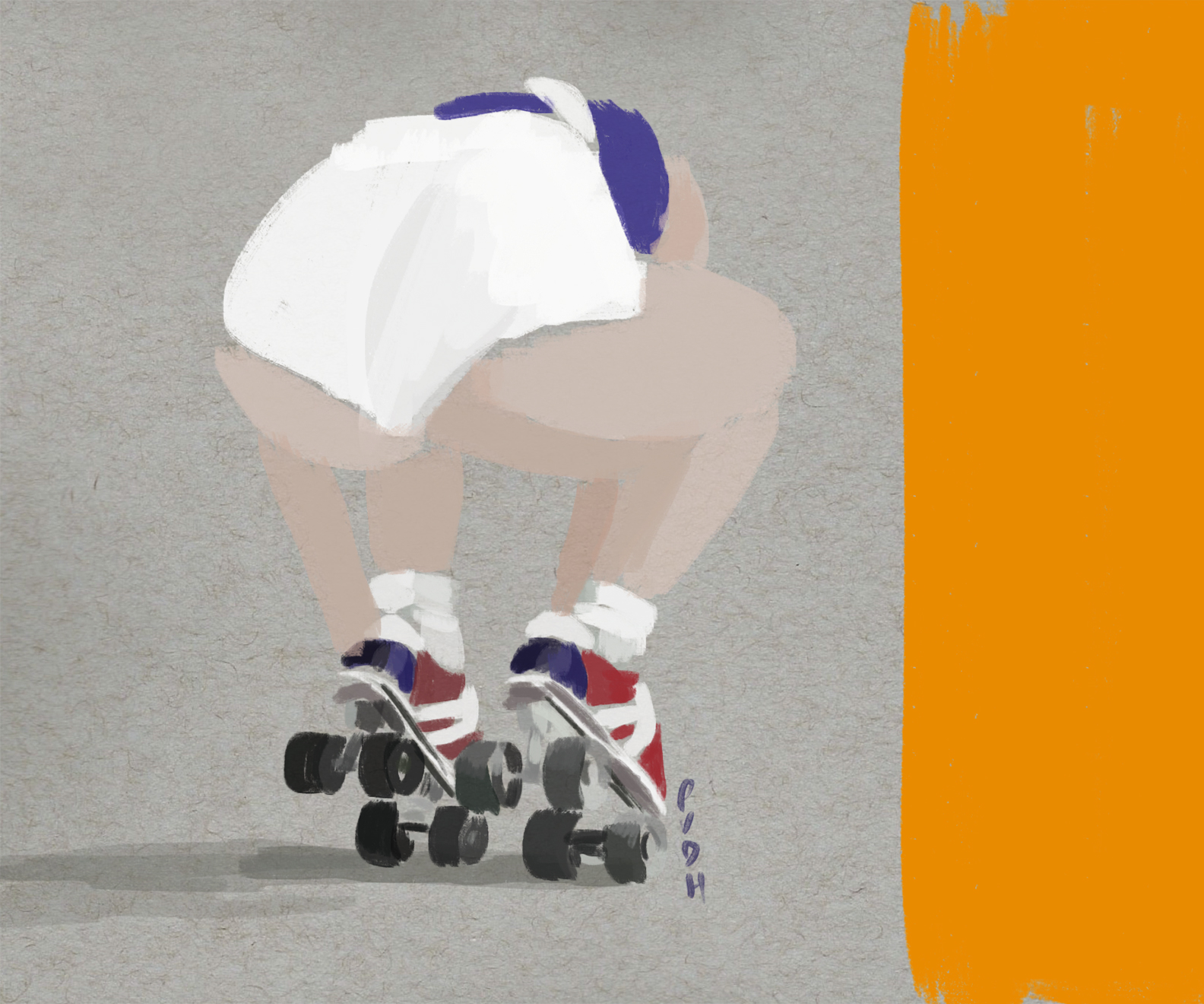 ROLLER-GIRL-ON-HER-MARKS-PAOLA-VAN-DER-HULST