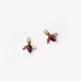 Ruby-18K-Rose-Fly-Studs-by-Paola-van-der-Hulst