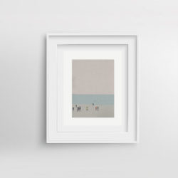 beach-life-iii-framed-art-print-by-paola-van-der-hulst
