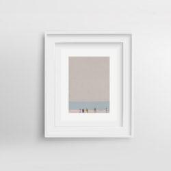 beach-life-framed-art-print-by-paola-van-der-hulst