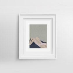 chill-pill-ii-framed-art-print-by-paola-van-der-hulst