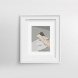 chill-pill-iii-framed-art-print-by-paola-van-der-hulst