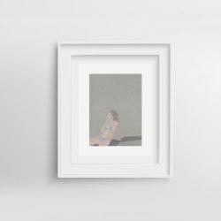 chill-pill-iv-framed-art-print-by-paola-van-der-hulst