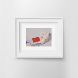 chill-pill-v-framed-art-print-by-paola-van-der-hulst