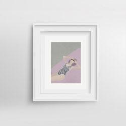 chill-pill-vi-framed-art-print-by-paola-van-der-hulst