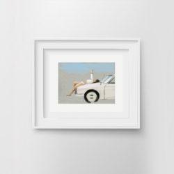 fast-lane-ii-framed-art-print-by-paola-van-der-hulst