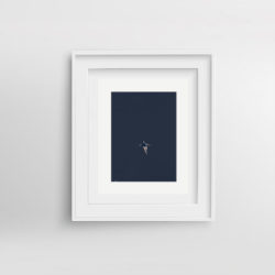 into-the-blue-framed-art-print-by-paola-van-der-hulst