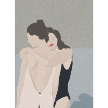 les-amis-art-print-by-paola-van-der-hulst