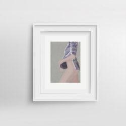 mariniere-framed-art-print-by-paola-van-der-hulst
