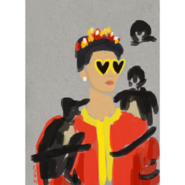 moschino-frida-art-print-by-paola-van-der-hulst