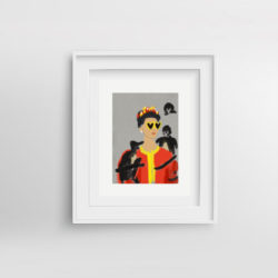 moschino-frida-framed-art-print-by-paola-van-der-hulst