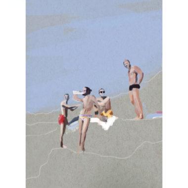 i-ragazzi-italiani-art-print-by-paola-van-der-hulst