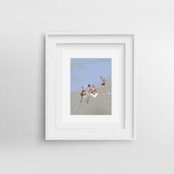 i-ragazzi-italiani-framed-art-print-by-paola-van-der-hulst