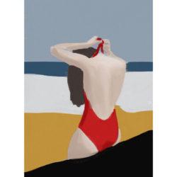 Beach-Bum-II-art-print-by-Paola-van-der-Hulst