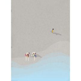 Beach-Life-V-art-print-by-Paola-van-der-Hulst