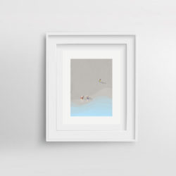 Beach-Life-V-framed-art-print-by-Paola-van-der-Hulst