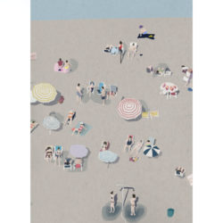 Beach-Life-VI-art-print-by-Paola-van-der-Hulst