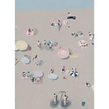 Beach-Life-VI-art-print-by-Paola-van-der-Hulst