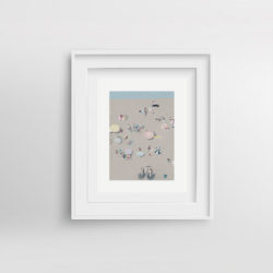 Beach-Life-VI-framed-art-print-by-Paola-van-der-Hulst
