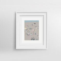Beach-Life-VI-framed-art-print-by-Paola-van-der-Hulst