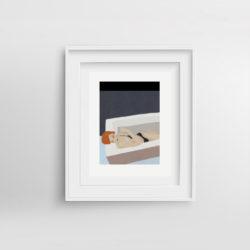 Home-Paola-van-der-Hulst-Art-print-framed
