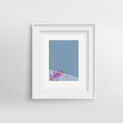 Lifes-a-beach-III-Paola-van-der-Hulst-Art-print-framed
