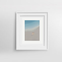 Lifes-a-beach-IV-Paola-van-der-Hulst-Art-print-framed